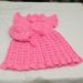 Pink-baby-frock-with-hat