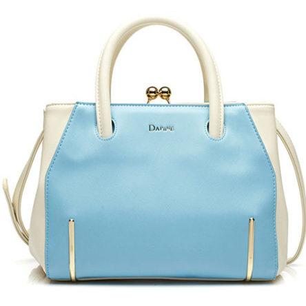 Female bag Daphne / Daphne bag patent leather hit color small fresh bag